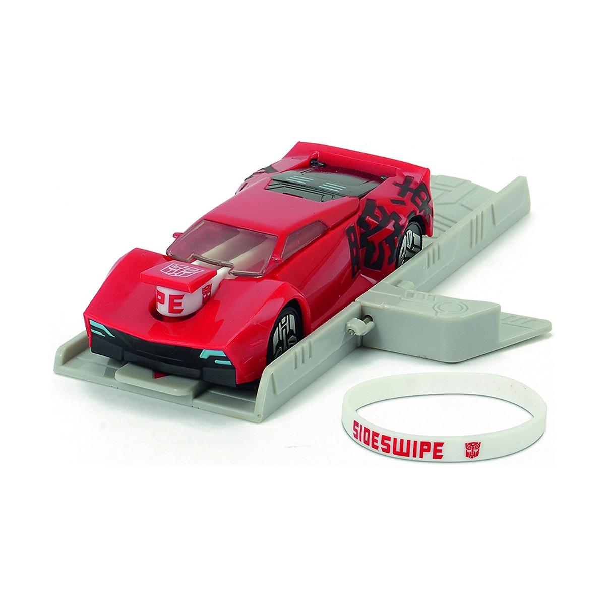 Автомобиль Трансформер. Миссия Сайдсвайп с пусковой платформой, 11 см «Dickie Toys» (3112002)