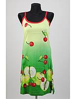 Сарафан домашний зеленый Metin Collection 7670