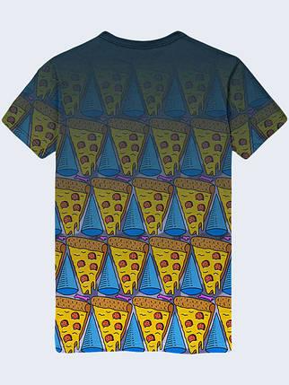 Футболка Гуманоид с пиццей, фото 2
