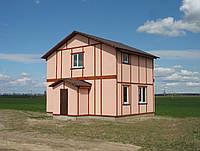 Строительство деревянно-каркасных домов, коттеджей