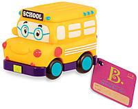 Машинка инерционная серии Забавный автопарк Battat - Школьный автобус (BX1495Z)