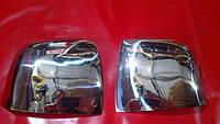 Накладки на зеркала нерж Fiat Doblo 10+