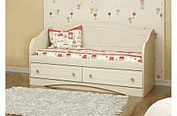 Детский диван Мишка 6 Вальтер, 140х70, ваниль