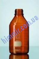 Бутыль с узким горлом 50 мл, коричневое стекло, с винтовой крышкой, 78 шт./уп