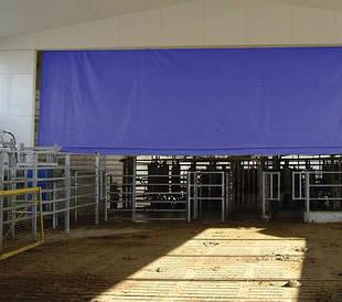 Вентиляционные шторы для доильных залов