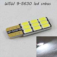 Светодиодная авто лампа SL LED в подсветку салона, багажника и номерных знаков по цоколь T10(W5W) 9-5630 Белый