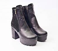 Ботинки женские кожаные IK-1508