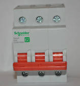 Выключатель нагрузки Schneider Electric Easy9 3P 80A 400В EZ9S16380