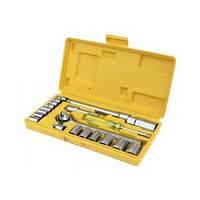 Набор ключей и насадок торцевых 21 шт Mastertool 78-0257