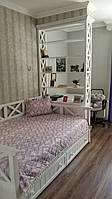 """Кровать массив ясень"""" Милия"""" в детскую комнату"""