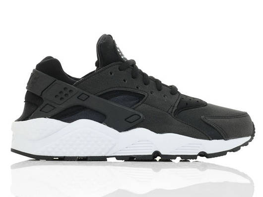 "Женские кроссовки Nike ""Wmns Air Huarache Run 'Black/White' """