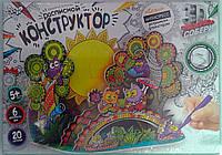 Пазлы 3Д Бумажный Расписной конструктор Совы 3DK-01-01 Danko-Toys Украина