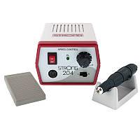 Фрезер Strong 204/Микромотор 102L, 35000 об/мин (65 Ватт) для маникюра и педикюра