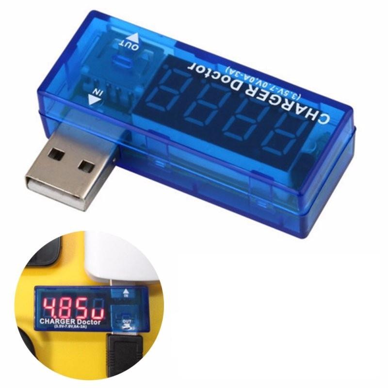 USB тестер Charger Doctor амперметр вольтметр