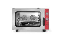Конвекционная Паровая печь - электрическая, ручной регулятор 4x GN1 / 1
