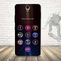 Чехол силиконовый бампер для Lenovo Vibe S1 с картинкой пароль