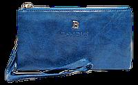 Женский кошелек-клатч Bobi Digi синего цвета WLP-061071
