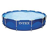 Каркасный бассейн Intex 28200 Сборный Metal Frame 305 x 76 см, фото 1