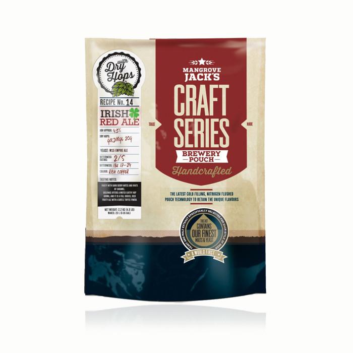 Экстракт пива Mangrove Jack's Irish Red Ale (2,5кг) с сухим хмелем