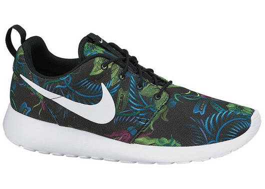 Мужские кроссовки  Nike Roshe Run. Floral