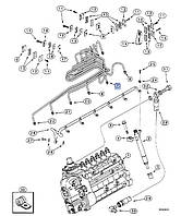 Паливна трубка  J930356