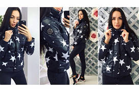 Женская куртка Звезды ,  размеры с м л