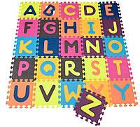 Детский развивающий коврик-пазл - ABC Battat 140x140 см (BX1210Z)