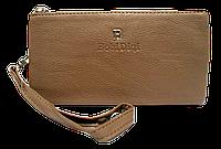 Женский кошелек-клатч Bobi Digi бежевого цвета WLP-061073