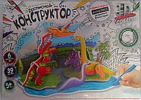 Пазлы 3Д Бумажный Расписной конструктор Динозавры 3DK-01-04 Danko-Toys Украина