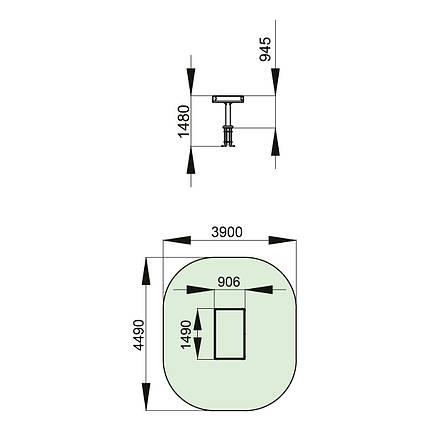 Комплекс для детей с ограниченными физическими возможностями T601, фото 2