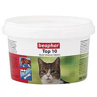 Кормовая добавка Beaphar Top 10 для кошек, 180 таб, фото 1