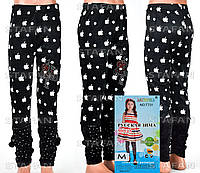 Детские велюровые штанишки на девочку Nailali T731-2 M-R