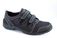 Кроссовки мокасины туфли мужские на липучках. Со скидкой