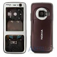 Корпус Nokia N73 Silver