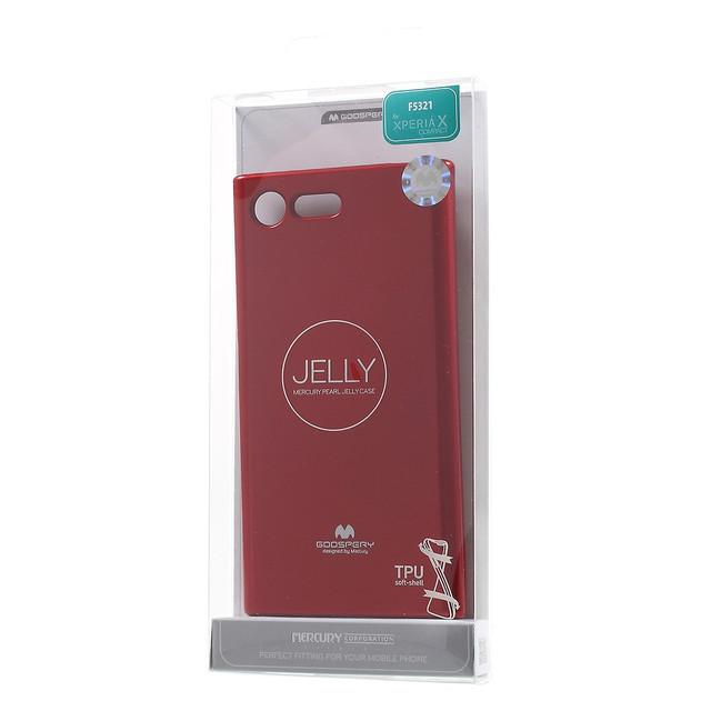 чехол накладка Sony Xperia X Compact F5321 MERCURY GOOSPERY красный