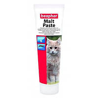 Мальт-паста Beaphar Malt Paste для кошек, выведение шерсти, 100 г, фото 1