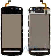 Сенсор (тачскрин) для Nokia 5800 Black