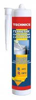 Герметик силиконовый санитарный, прозрачный, 230 мл., Technics, (12-268) шт.