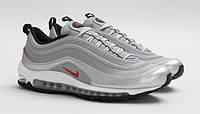 Кроссовки Nike Air Max 97 мужские серо- белые