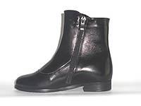 Демисезонные ботиночки для девочек, натуральная кожа