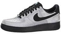 """Мужские кроссовки Nike Air Force 1 Low """"Metallic Silver"""" (Найк Аир Форс низкие) серебристые"""