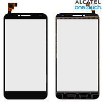 Touchscreen (сенсорный экран) для Alcatel One Touch 6037 Idol 2, оригинал (черный)