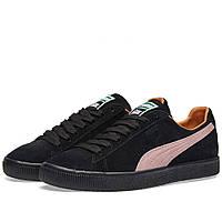 Оригинальные кроссовки  Puma x Patta Clyde Puma Black & Prism Pink