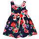 Платье для девочек в цветочный принт , фото 4