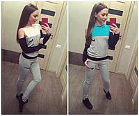 """Молодежный спортивный костюм """"Nike"""" из турецкой ткани ( двунитка)"""