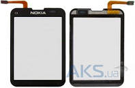 Сенсор (тачскрин) для Nokia C3-01 Original Black