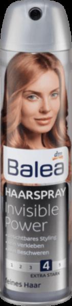 """Лак для волос """"Невидимый"""" Balea 300 Ml Германия"""