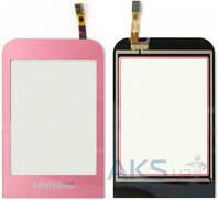 Сенсор (тачскрин) для Samsung Champ C3300 Original Pink