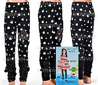 Детские велюровые штанишки на девочку Nailali T731-2 XL-R
