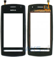 Сенсор (тачскрин) для Nokia 600 with frame Original Black